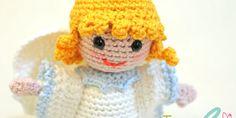 Sal presepe amigurumi 2014: l'angelo all'uncinetto Crochet Angels, Crochet Dolls, Crochet Hats, Holiday Crochet, Easter Crochet, Christmas Angels, Christmas Crafts, Diy Nativity, Angel Crafts