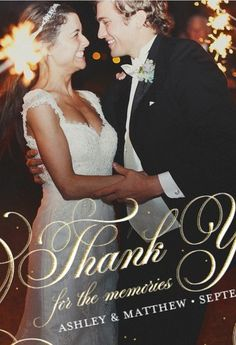 Say What Needs to Be Said -  Writing Wedding Guest Thank- You Cards: Wording, Etiquette, and More! - hand written letter - #classy