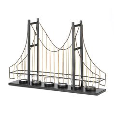 Golden Gate Bridge Candleholder