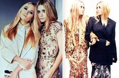 I don't care what anyone says:Without a doubt, to me the Olsen Twins have got to be two of the most stylish women in fashion! A little quirky, a little grunge, a little boho meets Soho - but a whole lot of chic. Glamorous in their own right! Adore. ♥