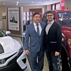 Milan Sulc OKTIUM's CFO and co-founder met with Chris Mignano to strengthen their commitments in providing a better customer experience through innovation and collaboration. Toyota of Manhattan will now be able to provide their customers with a real-time and interactive video tour inside their showroom provided by OKTIUM. See and experience @toyota_manhattan #ToyotaOfManhattan #Partnerships #HumanConnection #OKTIUM