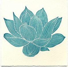 Lotus. Ink lines. Sakura Pigma Micron 05 art pens