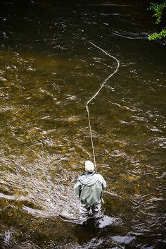 A good upstream mend counteracts the effects of faster currents between you and your fly.