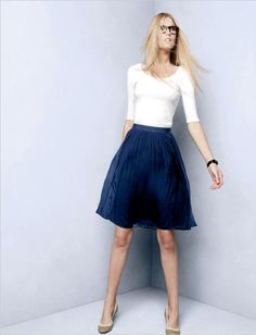 Ballet Tee and Chiffon Skirt
