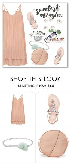 """""""I Don't Want Summer To End"""" by andrejae ❤ liked on Polyvore featuring River Island, Lauren Lorraine, Acne Studios, BAGGU, dress, polyvoreeditorial and summer2017"""
