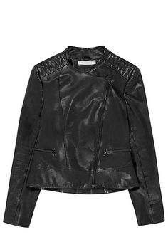 25 Black Leather Jackets For Instant Street Cred #refinery29  http://www.refinery29.com/best-leather-jackets#slide11