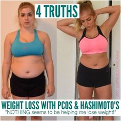 When NOTHING seems to be helping you lose weight with PCOS and thyroid disease...this girl really hits the nail on the head!