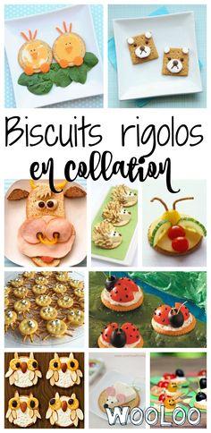 Des biscuits rigolos animaux  faciles à faire et parfaits pour la collation !