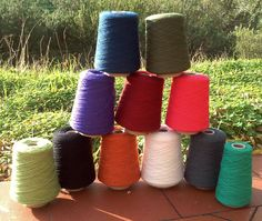 Knitting wool from domoras, 100 % merino wool