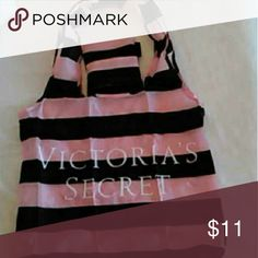 Victorias Secret PINK and Black Tote Brave new with original package. Great for gifting, putting wet clothes in, travel or just shopping eco friendly! Also selling on Merc@ri  Ask to bundle for discount FREE with purchase of $100 or more not including ship. Victoria's Secret Bags