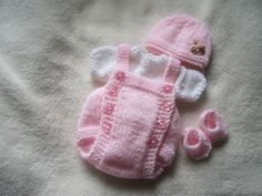 "Hand knitted dolls clothes for 8-9"" ooak sculpt / Reborn"