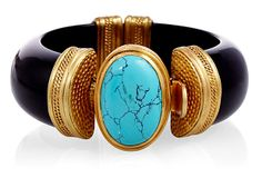 Luxor Cuff, Turquoise on OneKingsLane.com  by Julie Vos   $175
