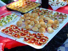 Buffet salato, vari
