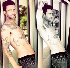 adam levine...The things I would do to him
