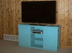 CUSTOM - Flat-Wall TV Stand - Sawdust City LLC