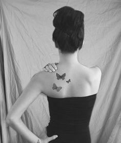 Tatuajes super sexys en la espalda para mujeres