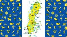Ruotsi päästä varpaisiin - Sverige från topp till tå