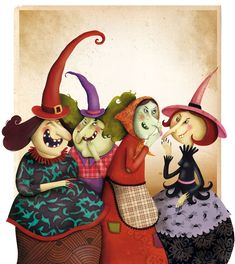 love them cute little witches