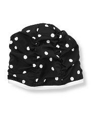 Janie and Jack - Dot Ruched Swim Cap