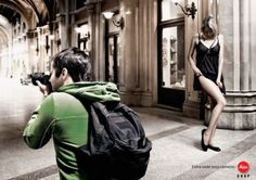 Creatively Funny & Sexy Leica Wide Angle Lens Ad Compaign