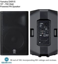 Here are the best ✅ Powered PA Speakers ✅ (also known as active PA speakers) as determined by their Gearank scores out of Powered Pa Speakers, Audio Speakers, Audio Engineer, Loudspeaker, Yamaha, Keyboard, Engineering, Letters, Music