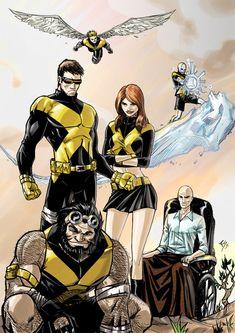 Old New X-Men - Rui Silveira