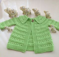 Knitted baby dress, vest, cardigan, sweater, overalls patterns (780) - Knitting, Crochet Love