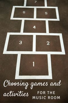 Looking for games and activities for the music room? This blog post includes guidelines for choosing the perfect games for your music lessons!