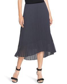 White House | Black Market Pleated Midi Skirt #whbm