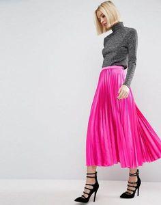 Modest Hot Pink Skirt
