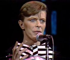 David Bowie December 15, 1979. Saturday Night Live, NY.