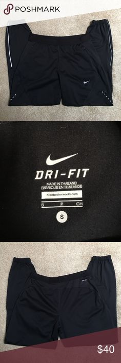 Nike Dri Fit Running Pants NWOT. Only worn once. Great condition. Light weight, good for running. Nike Pants Track Pants & Joggers