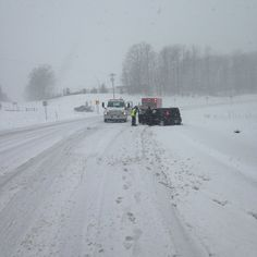 Snow Causes Multiple Traffic Issues in Leelanau County