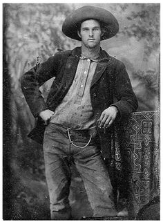 The Cowboy. Interesting vintage photo