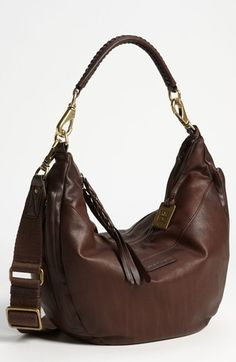 Frye 'Jenny' Leather Hobo | Nordstrom...cute bag!!!  Big Mama said the Nordstrom anniversary sale started yesterday and there are some great deals available for a limited time. If you're a Nordstrom card holder then you can have early access from July 10-17 and then it opens to the public from July 18-August 4th. Anyway, this gorgeous Frye handbag is on sale for $285.90 and is normally $420
