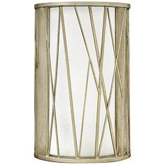 """Laurel Estate 9"""" High Brio Aged Gold Wall Sconce - #9G475 