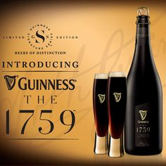 """To most people, Guinness means a dark, heady stout, but the company may be looking to change that with today's announcement of a new line of """"limited . Malta, Guiness Beer, Guinness Draught, Scotch Whiskey, Irish Whiskey, Bourbon Drinks, Home Brewing Beer, Beer Humor, Beer"""
