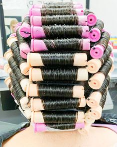 Natural Hair Regimen, Natural Hair Growth, Natural Hair Styles, Getting A Perm, Wet Set, Marley Twists, Perm Rods, Roller Set, Hairstyle Look