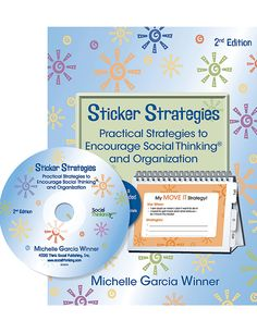 #Sticker Strategies includes over 80 #strategies that can be printed out to create a portable spiral-bound toolbox for students. The result is fewer behavioral breakdowns & #classroom disruptions, while teaching self-reliance & problem-solving. The #student can refer to the strategies they have already learned in their personalized flip book, to solve problems independently throughout the day. Easy to use & expand upon...