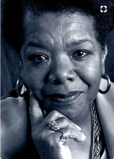 Maya Angelou- photo   Author and a poet. She has starred in plays, movies, & TV shows spanning 50+ years receiving dozens of awards. She is known for I Know Why the Caged Bird Sings.  She was a spokesperson for Black People and Women