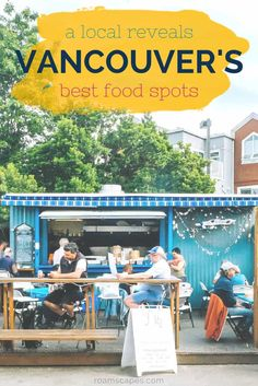 Wondering where to eat in Vancouver BC? Prepare to dig in with a locals choice of restaurants and cafés worth a visit (or three). Vancouver Tourist Attractions, Vancouver Vacation, Vancouver Travel, Vancouver Island, Vancouver Food, Vancouver Restaurants, Downtown Vancouver Canada, Granville Island Vancouver, Visit Vancouver