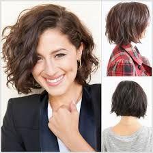 resultado de imagen para tendencias cortes de pelo mujer cabello ondulado
