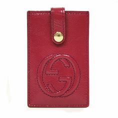 27ccb707fad Gucci Micro GG Star Card Case Wallet White Leather 233166 White Leather