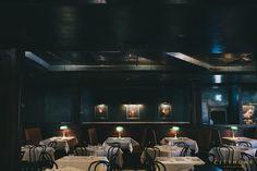 Finca Salt Lake City. New restaurant design by cityhomeCOLLECTIVE. #teal #art #lighting #dining