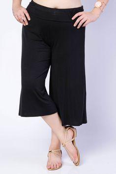 Wide Legged Knit Pants