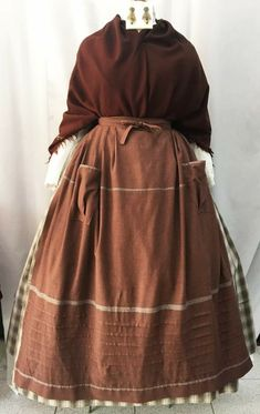 Victorian Era, Aprons, Regional, Cotton Dresses, Dresses For Work, Costumes, Clothes For Women, Lady, Skirts