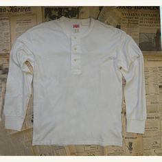 1920's Tee Milk White Levi's Vintage Clothing