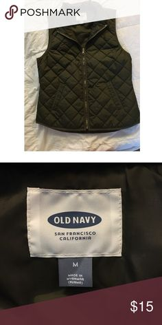 Old Navy Vest Like new! Super cute. You can wear this vest so many ways. Old Navy Jackets & Coats Vests