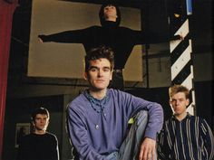 The Smiths at The Hacienda, Machester, England ― photo by Eric Watson.