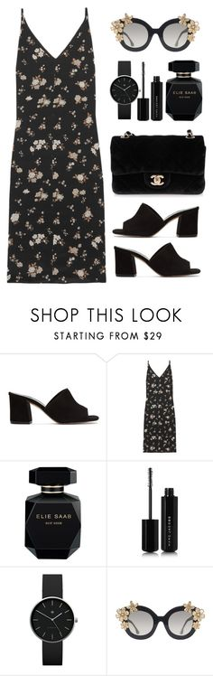 """"""". . ."""" by rasa-j ❤ liked on Polyvore featuring Maryam Nassir Zadeh, Golden Goose, Elie Saab, Marc Jacobs, Newgate, Alice + Olivia, Chanel and womensFashion"""